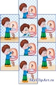 Картинки для детского сада алгоритм мытья рук в руки